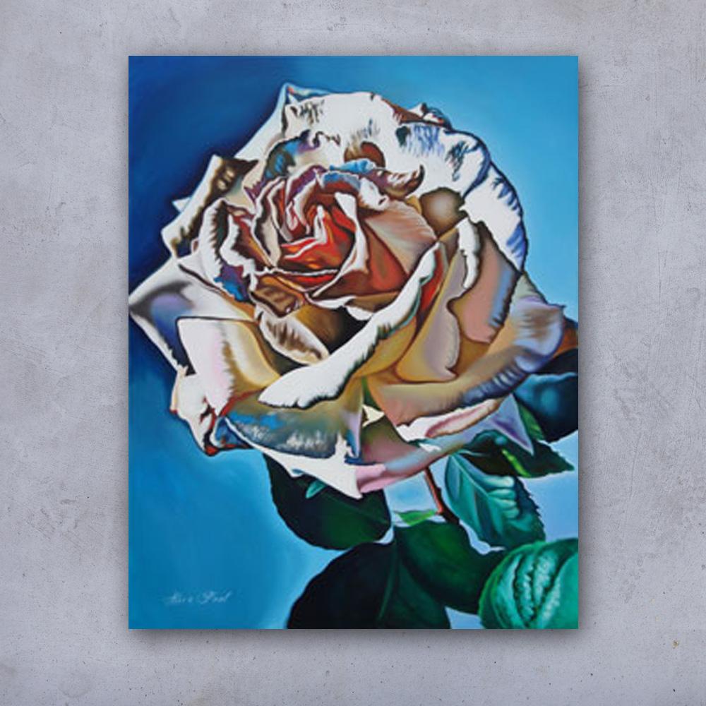 alicepoolwitterozenbloemenschilderij