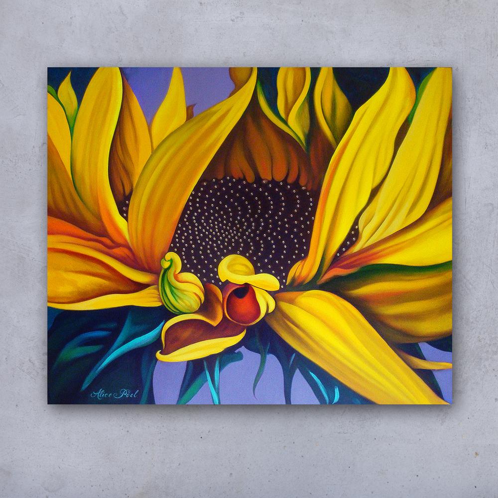alicepoolzonnebloemenschilderij